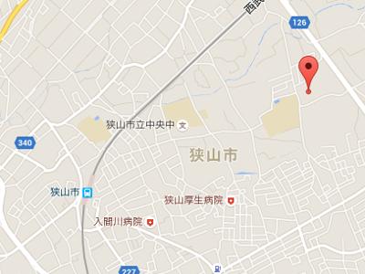 狭山フォレスト歯科クリニック 地図