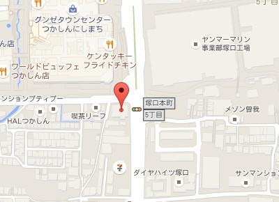 ごおデンタルクリニックmap