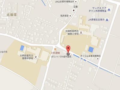 きたいいづか歯科医院 地図