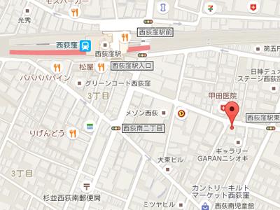西荻ファミリー歯科map