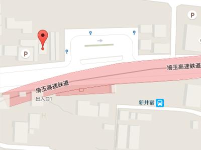 アール歯科クリニック新井宿 地図