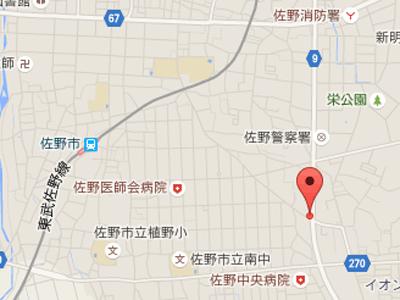 スマイル歯科佐野map