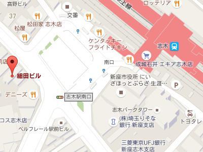 とりづか歯科医院map