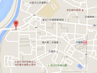 井高野歯科医院 地図