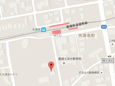 大清水歯科医院 地図