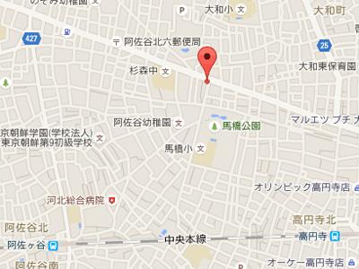 大場歯科map