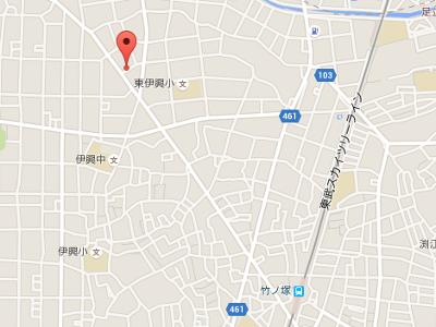 モアナ歯科クリニック 竹ノ塚医院 地図