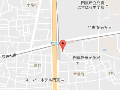 門真ステーション歯科 地図