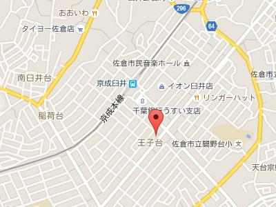 篠沢歯科医院地図