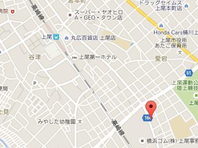 杉山歯科医院地図