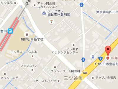 中尾歯科 金場診療所 地図