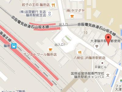 膳所グリーン歯科 地図