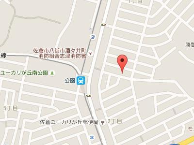 髙尾歯科地図