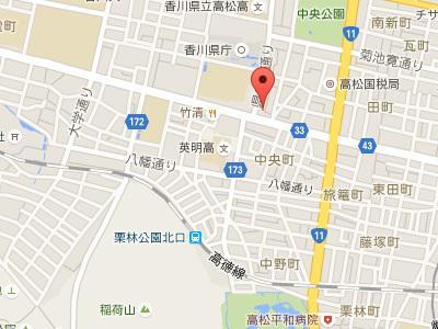 ア歯科診療所地図