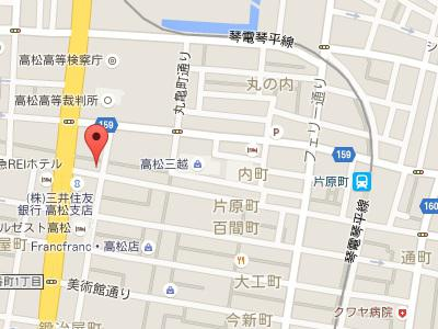 兵庫町歯科地図