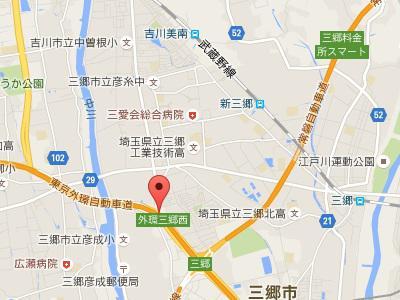 三郷天神歯科クリニック地図