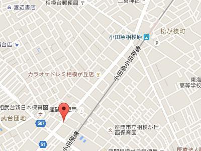 ふじみ歯科クリニック地図