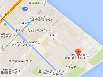 新浦安ブライト歯科地図