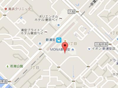 デンタルオフィス・ソレイユ地図