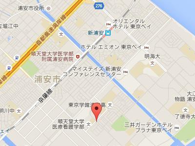 I CUBE DENTAL CLINIC新浦安地図