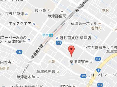 奥田歯科・矯正歯科地図