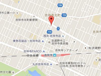 坂東歯科医院地図
