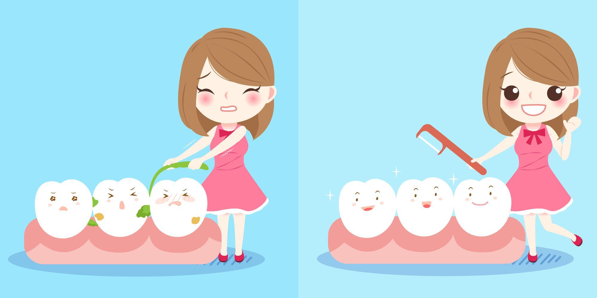 口臭予防_歯磨き粉_デンタルフロス