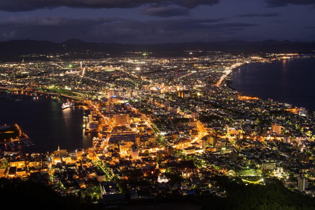 函館 夜間