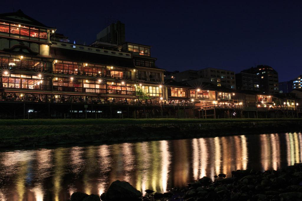 京都 夜間