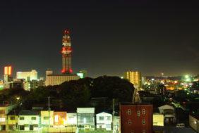 水戸市 夜間
