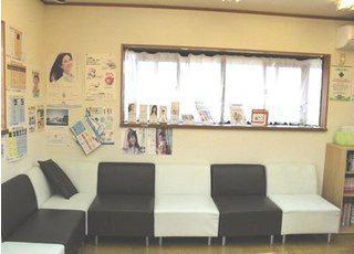 ささびき歯科医院 待合室