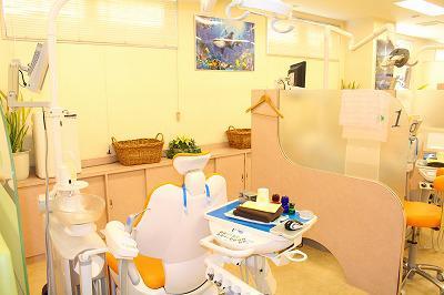 国立緑歯科クリニック 診療室