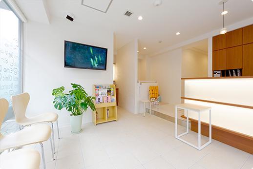 エルモ歯科 待合室
