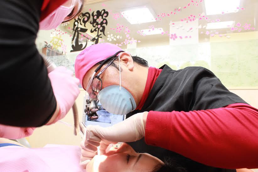 小田歯科 診療風景